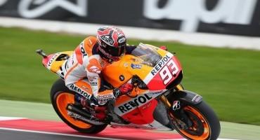 MotoGP, Silverstone, Marquez il più veloce nelle libere
