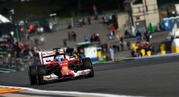 Formula1 – GP del Belgio – Seconda e quarta fila per la Scuderia Ferrari