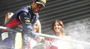 Formula1 – GP del Belgio F1 – Pirelli – Daniel Ricciardo vince la sua seconda gara consecutiva