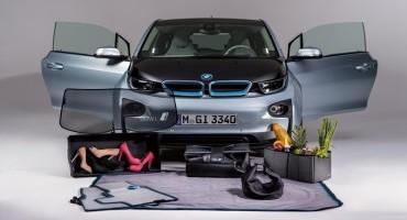 BMW, 11 nuovi accessori multifunzionali per la i3