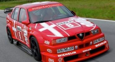 Le Alfa Romeo 155 V6 Ti DTM saranno protagoniste sul circuito di Zandvoort