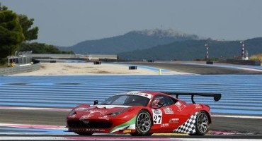 ACI Sport, Italiano GT, Le Castellet, le due pole a Raffaele Giammaria (Ferrari 458) e a Marco Mapelli (Audi R8)