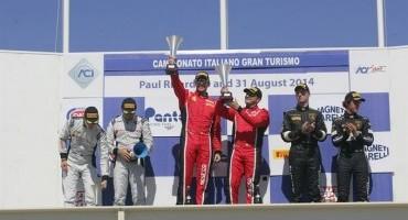 ACI Sport, Italiano GT, Paul Ricard, Gara 2 all'equipaggio Benucci-Balzan (Ferrari 458 Italia)