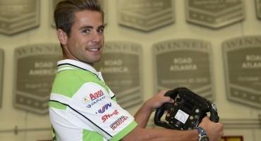 Bautista visita il Team Andretti, vincitore della 500 miglia di Indianapolis 2014