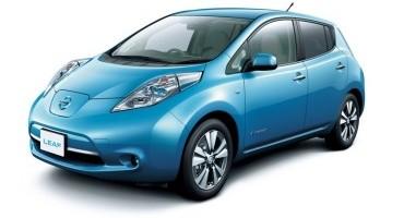 Nissan, con i modelli elettrici e-NV200 e LEAF, 100% entra nella flotta della UEFA Champions League
