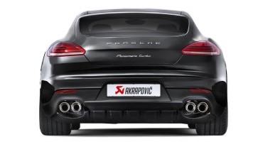 """Porsche: le Panamera Turbo e Turbo S utilizzeranno gli scarichi """"Evolution"""" di Akrapovič"""