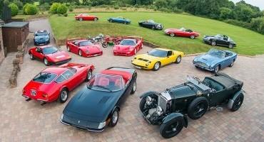 Silverstone Auctions mette all'asta una delle più fini collezioni di auto classiche