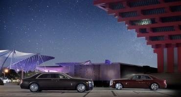 Ghost Series II, la lussuosa e tecnologica dream car sarà svelata da Rolls_Royce al Motor Show di Chengdu del 2014