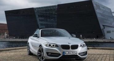 BMW: elegante, dinamica, funzionale, è la nuova Serie 2 Cabrio