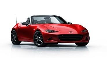 Mazda presenterà la sua nuova MX-5 al Salone dell'Automobile di Parigi 2014