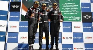 Mini Challenge, Nicola Crocioni centra la vittoria in gara 1 a Vallelunga