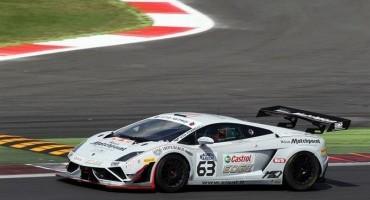 ACI Sport, Italiano GT, Vallelunga, Gara 1 a Barri-Bortolotti (Lamborghini Gallardo)