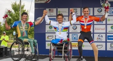 UCI Para-Cycling World Championships, tre le medaglie vinte da Alessandro Zanardi