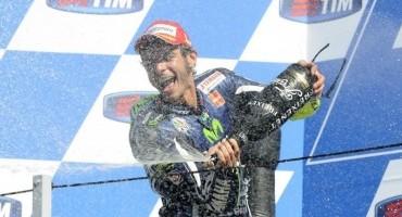 MotoGP, trionfo di Rossi che vince nella sua Misano