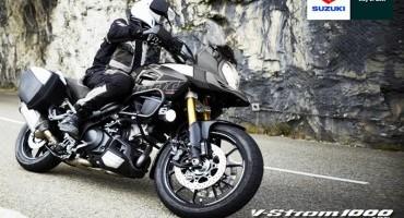Suzuki presenta la nuova V-Strom 1000 ABS Limited Edition