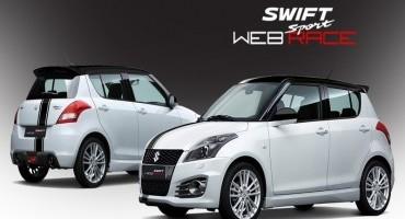 Il web shop Suzuki si arricchisce con il debutto di Swift Sport Web Race