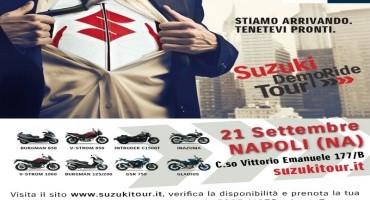 Domenica 21 settembre a Napoli con Suzuki DemoRide Tour