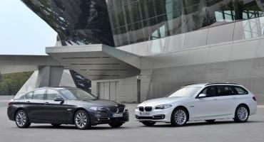 BMW Serie 5 : più grinta con i nuovi motori diesel Twin Power Turbo