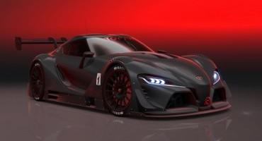 """Toyota FT-1 """"Vision GT"""" disponibile il download per Gran Turismo® 6"""