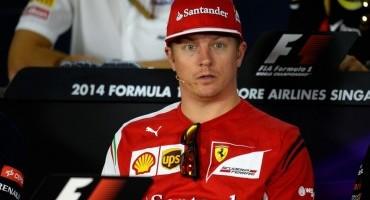 """Formula1 – GP di Singapore – Raikkonen: """" Non smetto di cercare buoni risultati"""""""