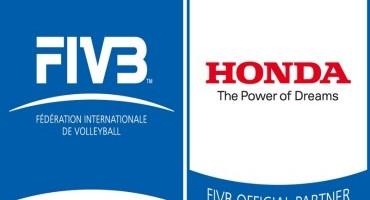 "Honda: fino al 2016 ""Official car"" della Fédération Internationale de Volleyball (FIVB)"