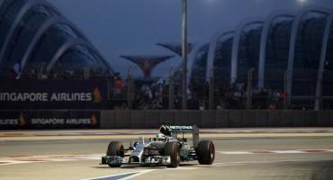 Formula1-GP Singapore: a Lewis Hamilton la pole, 2° Rosberg, 5° Alonso
