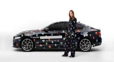 Jaguar e Stella McCartney portano la nuova XE al Fashion Week di Parigi