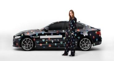 Jaguar e Stella McCartney portano la nuova XE al Fashion Week di Parigi