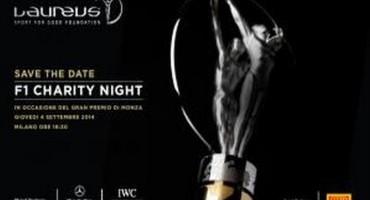 """Atleti e sportivi tra i protagonisti di """"Laureus F1 Charity Night"""" per celebrare i 10 anni della Fondazione in Italia"""