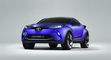 Nuovo Concept Toyota C-HR: la visione Toyota per un Crossover del segmento C