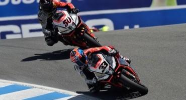 Mondiale SBK, gli alfieri del  Team Aprilia Racing affilano le loro armi per Jerez