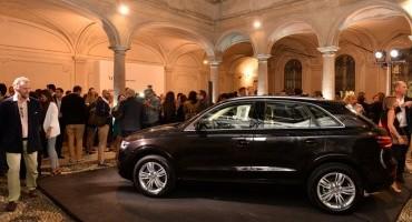 La Audi Q3 Verve protagonista della moda milanese