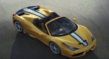 Ferrari 458 Speciale A: spider con prestazioni da record, al Salone di Parigi