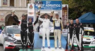 Yokohama Italia: Travaglia vince il Trofeo Rally Terra 2014