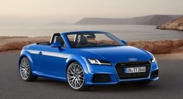 Audi: riscoprire il piacere open air con le nuove Audi TT Roadster e Audi TTS Roadster