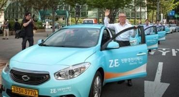 Renault samsung Motors, dal 1° Settembre Taxi elettrici nella città di Seoul