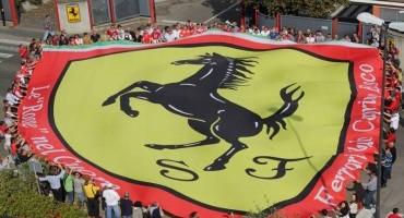 Il grande cuore Ferrari saluta il Presidente Montezemolo