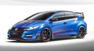 Honda presenta la nuovissima Civic Type R: nuovi standard di sportività, cambio manuale  6 rapporti e 280 cavalli