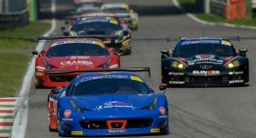 International GT Open: tripletta Ferrari a Monza nella categoria GTS