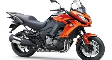 Intermot 2014: Kawasaki svela la nuova Versys 1000 per il 2015