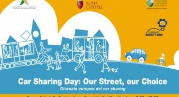 """Car Sharing Day: Our street, our choice"", Mercoledì 17 Settembre la Giornata europea del car sharing"