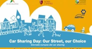 """Car Sharing Day: Our street, our choice"", Mercoledì 17 Settembre la Giornata europea del car sharing"