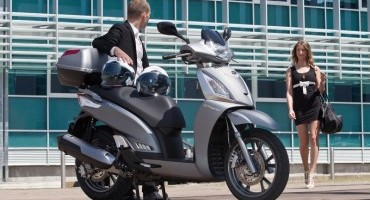 KYMCO People GTI MY 2015 , è già disponibile presso le Concessionarie