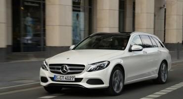Mercedes, a pochi giorni dal GP di Monza, presenta la Classe C Station Wagon BlueTEC HYBRID