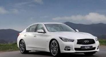 Infiniti rivela i prezzi della nuova Q50 turbo benzina da due litri