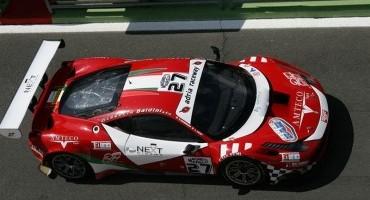ACI Sporr, Italiano GT, Giammaria (Ferrari 458 Italia) e Bortolotti (Lamborghini Gallardo) in pole a Vallelunga