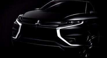 Mitsubishi Motors, al Motor Show di Parigi 2014 presenta l'ibrido Outlander PHEV Concept-S