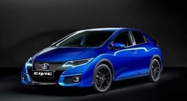 Honda : nuovo design, nuova tecnologia e nuova versione sportiva per la gamma Civic