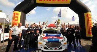 Ottavo titolo piloti per Paolo Andreucci e Peugeot 208 T16