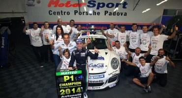 Carrera Cup Italia 2014: Matteo Cairoli e Alex De Giacomi sono già campioni